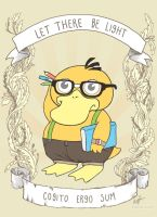 Psyduck: I think therefore.. by amy-liu