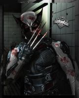X Force Wolverine (Hugh Jackman)  by Spider-maguire