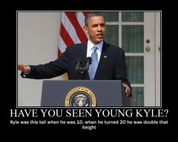 have you seen young Kyle? by LightDemonCodeH