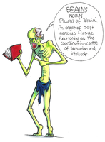 Dictionary Zombie by Epifex