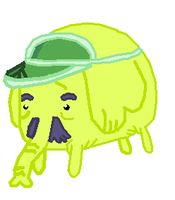 Mallet AKA Tree Trunks with Mustache and Bow Tie by UltimateAgreggor55