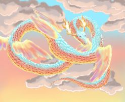 Sky Dragon Clear by Caium