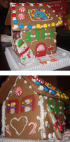 GINGERBREAD HOUSE by Ipun