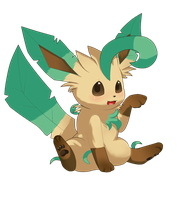 Leafeon 2 by Blushily