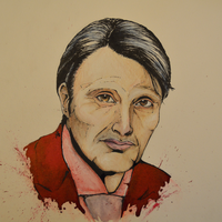 Hannibal Lecter by AneNJ