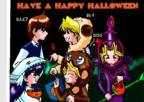 Happy Halloween by ryo-hakkai