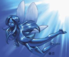 water fairy by Mundokk