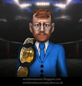 Conor McGregor Caricature by Mick2006
