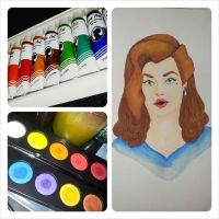 Classy pinup PAINTED + pics by PatriciaSorlie
