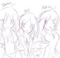 VAC Female Artists Doodle by Evee-Elric