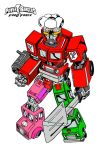 Power Rangers Food Force: MegaZord in color by wonderfully-twisted