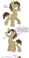 Doctor Whooves - All Pony Races by Pupster0071