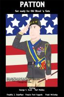Patton Poster by wolfgrl1492