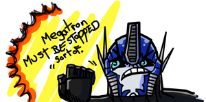 An Optimus Promise by caboosemcgrief