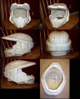 master chief helmet by TIMECON