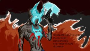 Shadowman Lord Of Deadside by zombehmaster
