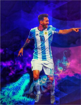 Argentina's Dragon - Messi by Leo10thebest