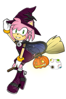 Amy Rose - Halloween special by sosQsos