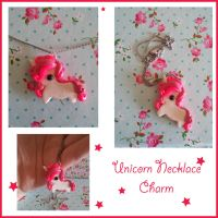 Unicorn Charm Necklace by FantasySystem