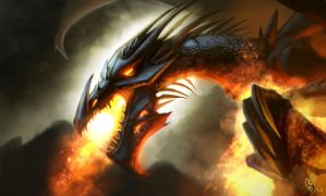 dragon's fire by absinthe-girl