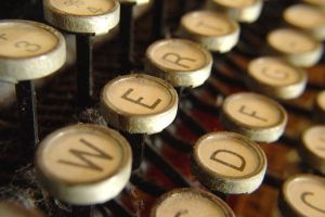 Old typewriter macro shot by Jantiff-Stocks