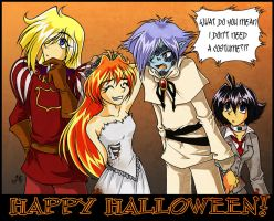 Slayers - Halloween by cowgirlem