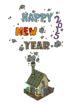 :: Happy New Year - 2015 :: by painted-leaf