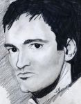 Quentin Tarantino by thewomaninred
