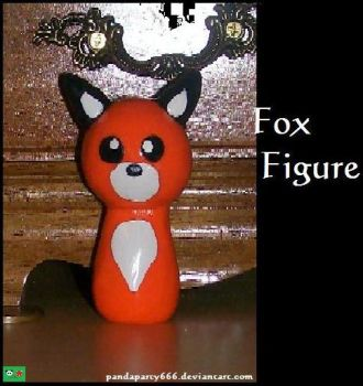 Fox Figure by pandaparty666