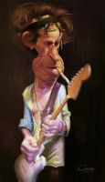 Keith Richards by creaturedesign
