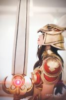 Valkyrie Leona Cosplay - League of Legends by KawaiiTine