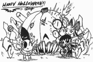 Happy Halloween 2014!! by Kainsword-Kaijin