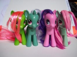 MLP: My G4 Mintys by KPenDragon