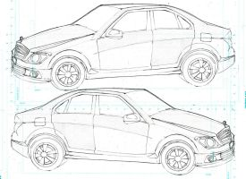 C-class production sheet by 5exer