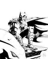 batman and a gargoyle? by benjtendo