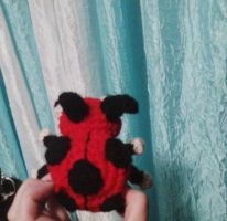 Ledyba amigurumi rearview by Timeless-Torment