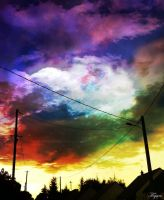 I see lots of color on my sky by Yoann-Anecdote