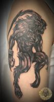 Ifrit Final Fantasy tat 1. ses by 2Face-Tattoo