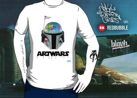 ArtWars T-shirt by TheArtofBlouh
