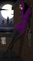 Catwoman colour full scene by DarkFurianX