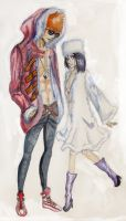 ichiruki aquarelle by coolmaruska