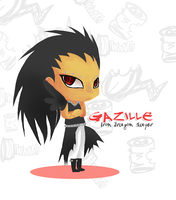 Fairy Tail-Chibi Gazille by RavenNoodle