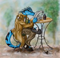 Virge Reading Fin by krazykelli