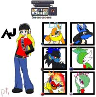 Trainer AJ by AJgirl