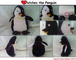 A Penguin Named Patches by Slave2Karma