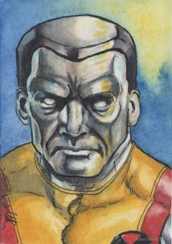 Colossus sketchcard by changewinds