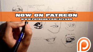 How to Draw Mouths (Now on Patreon) by Atlas0