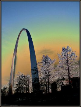 The Arch in Downtown St Louis by marmicminipark