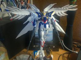 Wing Zero Wing spread pose by Lord-Plankton