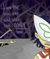 GORILLAZ - The real Noodle by TerminallySuperboy